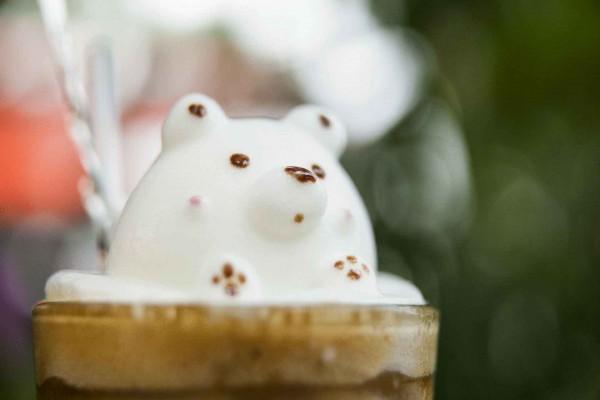 3D Latte Art